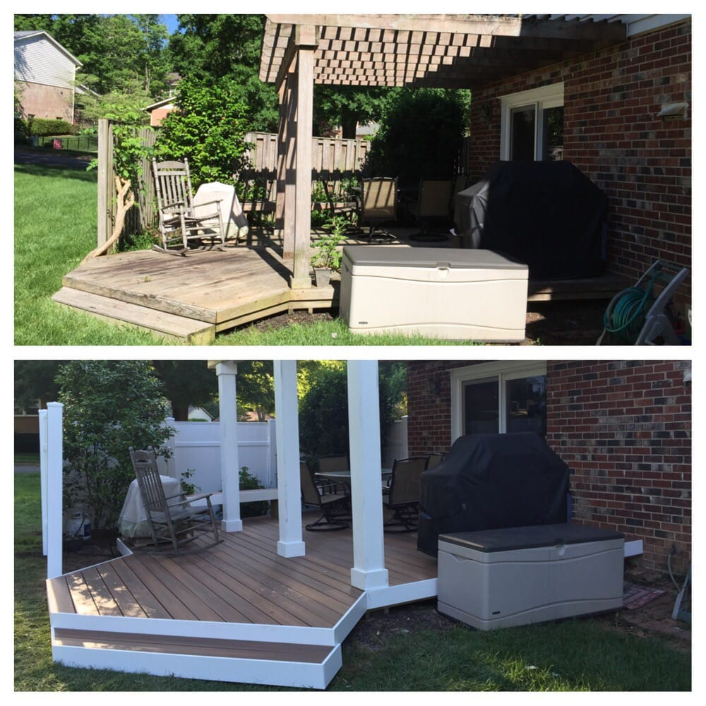 Backyard Deck | Affordable Carpentry in Vienna, VA